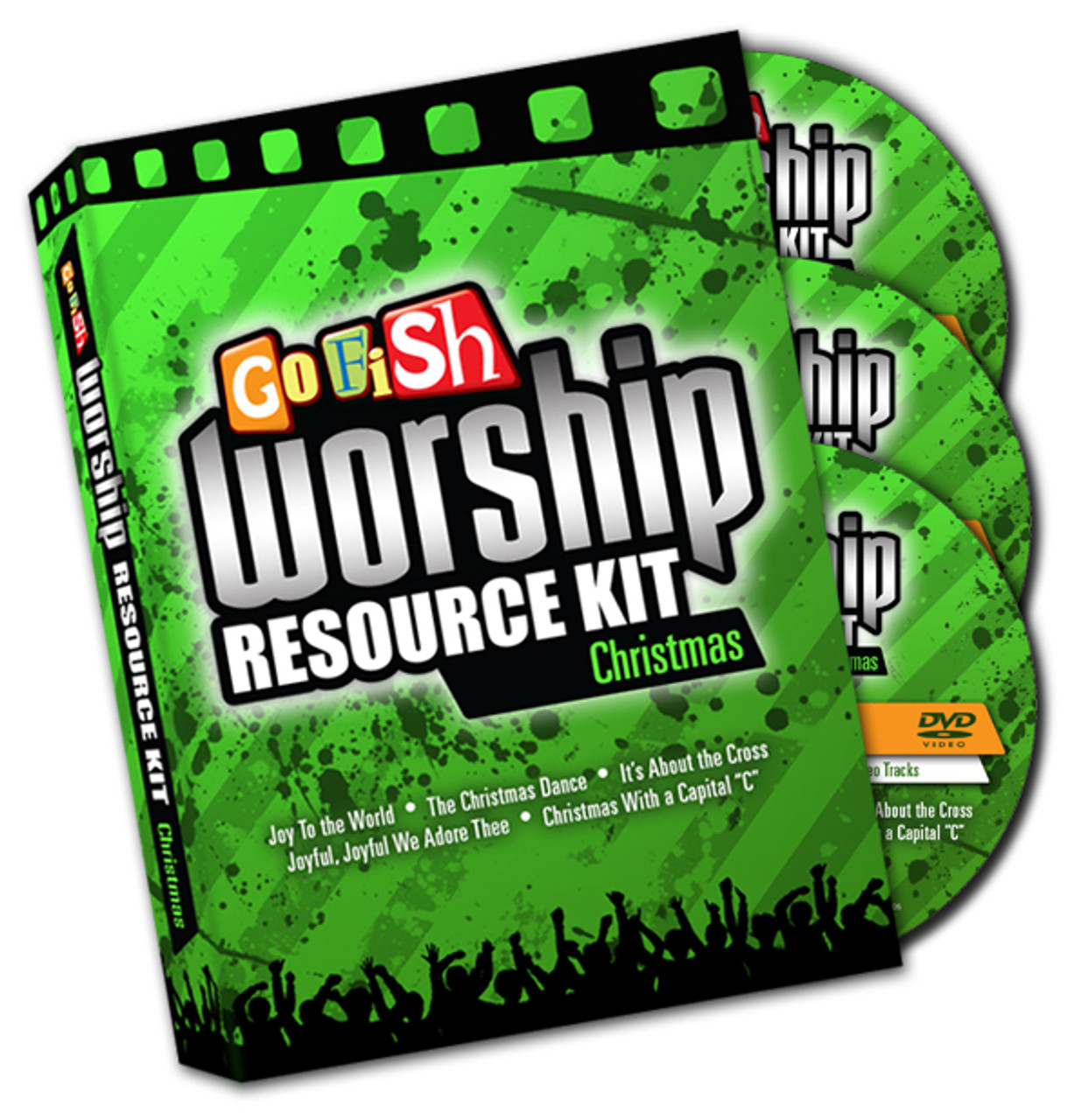 Go Fish makes leading worship in your children's ministry easier than ever with these incredible kidmin Christmas videos!