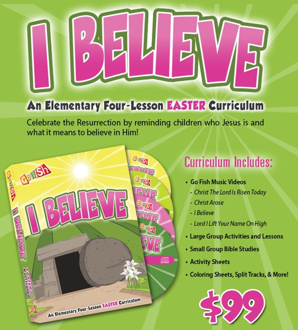 I Believe: Easter Curriculum Kit