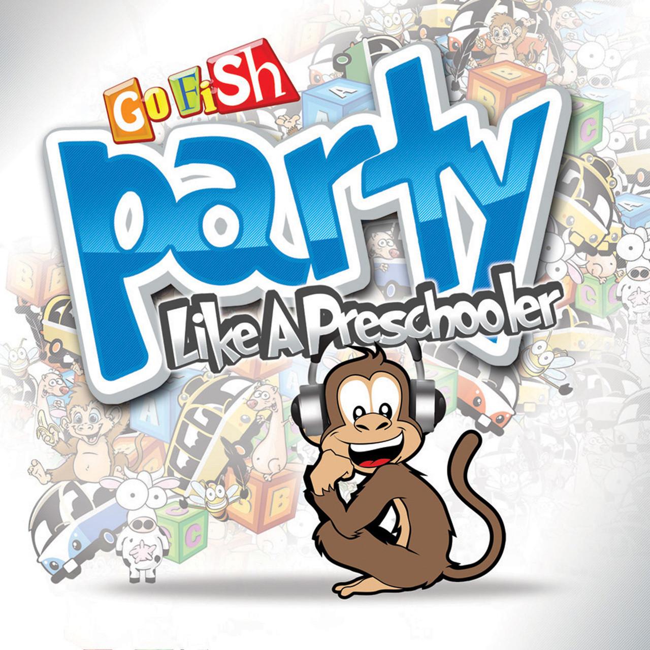 Party Like A Preschooler CD