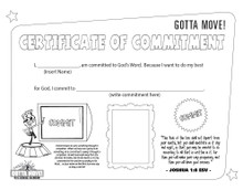 Gotta Move! VBS Certificate Craft 20-Pack