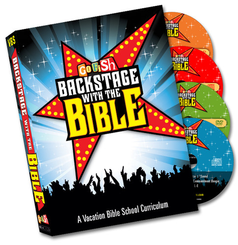 Backstage With The Bible Disc Set