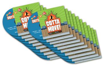 Gotta Move! CD 20-Pack