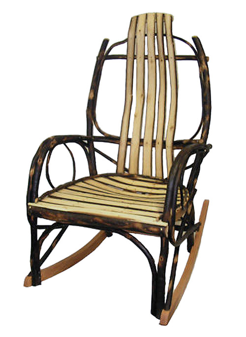 ... Amish Bentwood Rocker   All Hickory. Image 1