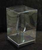 PVC 5x8cm Rectangle Cube Clear Plastic Gift Box - Bomboniere Favour