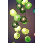 Green Ball Globe Fairy Lights