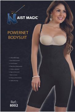 8002 Waist Magic Powernet Bodysuit Capri