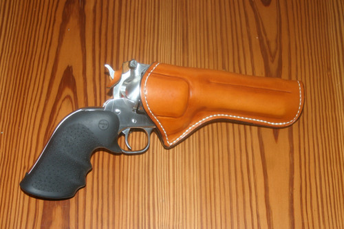 Field Holster in Saddle Tan with Hammer Thong
