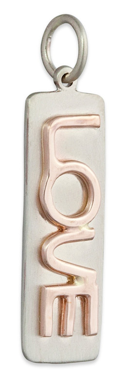 Thin Bar Pendant Silver or Gold Personalized
