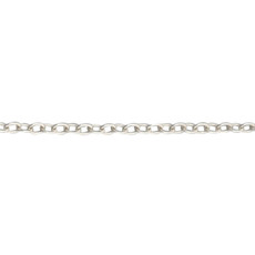 Tiny Link Chain Sterling Silver