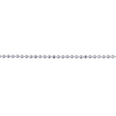 NEW! Itty Bitty Delicate Sparkly Ball Chain Sterling Silver
