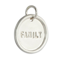 Medium Disc Silver or Gold Personalized