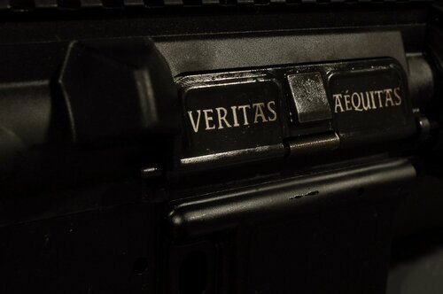 AR15 Dust Cover - Veritas Aequitas