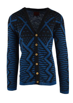 Blue and Black Knitwear