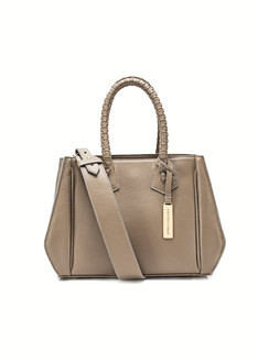 Taupe medium twende tote bag