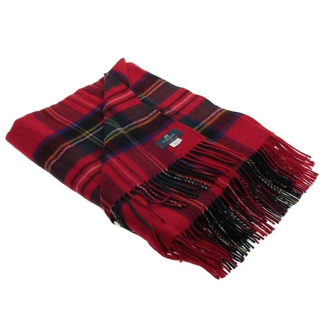 Royal Stewart Tartan Blanket
