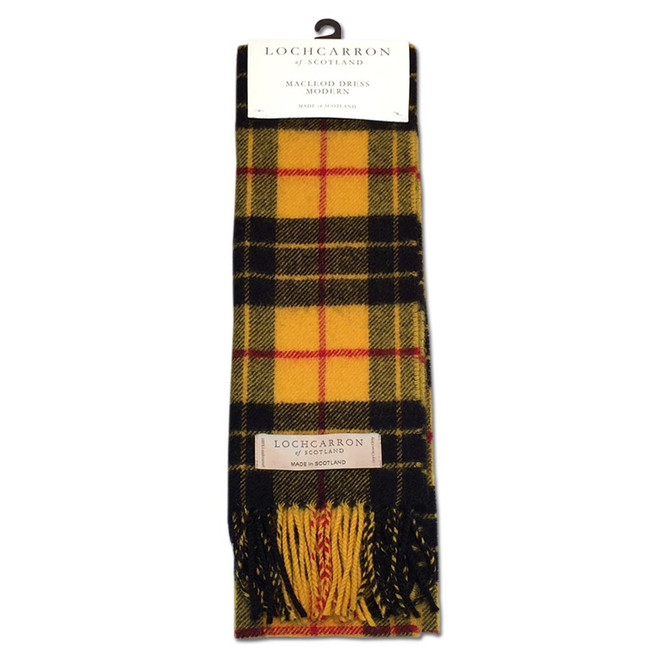MacLeod Dress Modern Clan Tartan Scarf