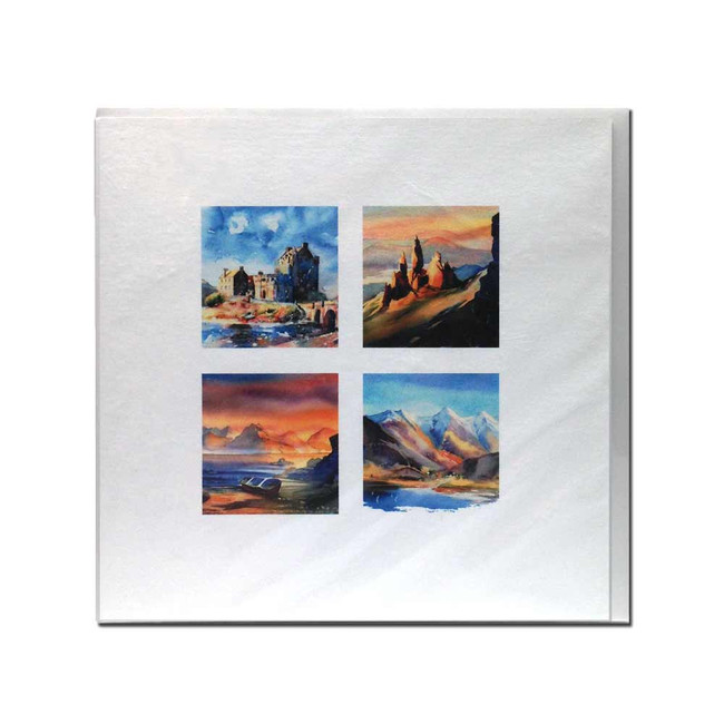 West Coast Scenes card