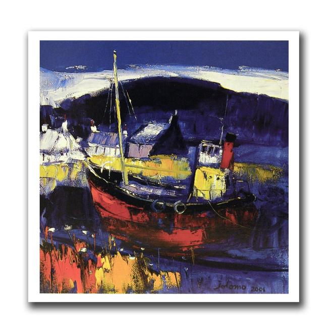 John Lowrie Morrison, Easdale Island greeting card