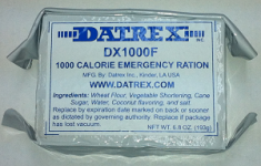 Datrex Emergency Rations - Aviation Ration - 1,000 kcal
