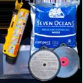 SOS Marine 2-3 Person Life Raft Survival Aid Extras