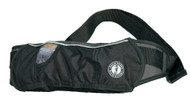 Mustang Inflatable Belt Pack PFD - black / carbon