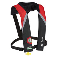 Onyx A-24 In-Sight Atomatic Inflatable Life Jacket / PFD - red / grey