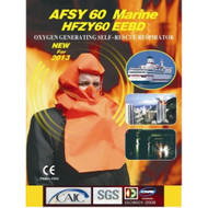 AFSY60 Marine Oxygen Generating Self Rescue Respirator