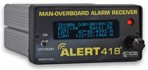 ALERT418 Emergency Man-Overboard Transmitter