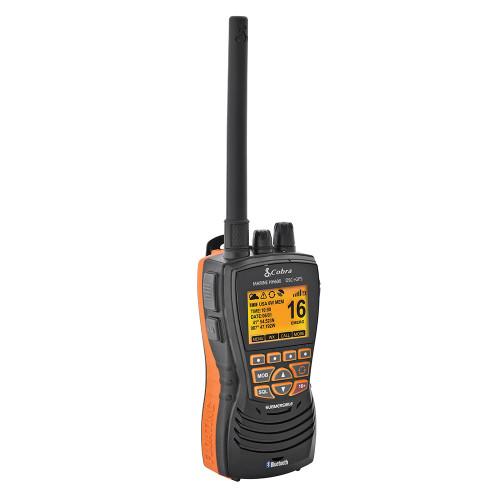 Cobra MR HH600B Floating GPS VHF Radio w/Bluetooth - Black