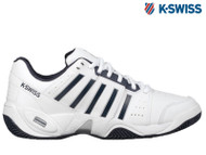 K-Swiss Accomplish III Mens Tennis Shoe **NEW** ( white/Navy)