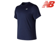 New Balance Accelerate Short Sleeve Running Top (Blue)