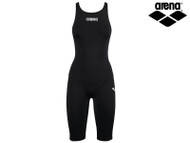 Arena Powerskin ST Full Body Short Leg Racing Swimsuit (Black)
