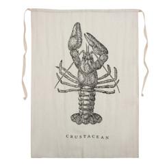 Crustacean Linen Bib