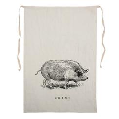 Swine Linen Bib