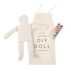 DIY DOLL & WATERCOLOR SET