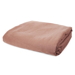 PURE LINEN DUVET COVER, Salmon