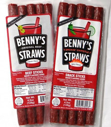 Meat Straws Original