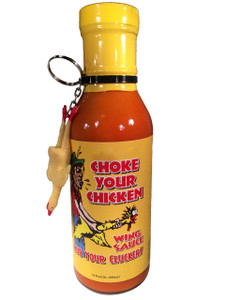 Choke Your Chicken Wing Sauce W/Keychain
