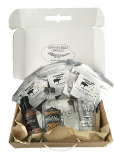 Liquor Infused Beef Jerky Gift Set