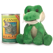 Canned Alligator Plush