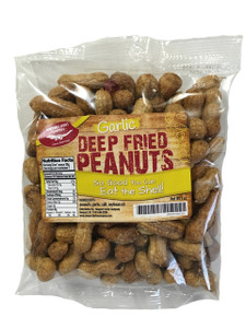 Deep Fried Peanuts (Garlic)