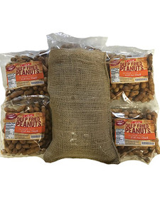 Deep Fried Peanuts 4 Pack Gift Bag (Cajun)