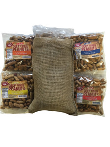 Deep Fried Peanuts 4 Pack Gift Bag (All 4 Flavors)