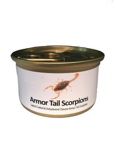 Armor Tail Scorpions. 2 per can