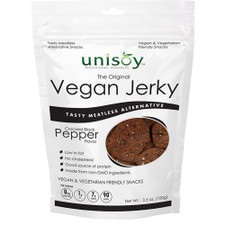 Unisoy Vegan Jerky (Black Pepper)