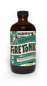 Hany's All Natural Harvest Flavor Fire Cider Tonic with Blackstrap Molasses