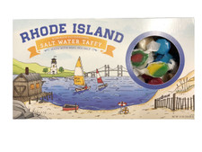 Rhode Island Old Fashioned Homemade Copper Kettle Batch Saltwater Taffy 20 Flavor Gift Box (Made with Real Sea Salt)