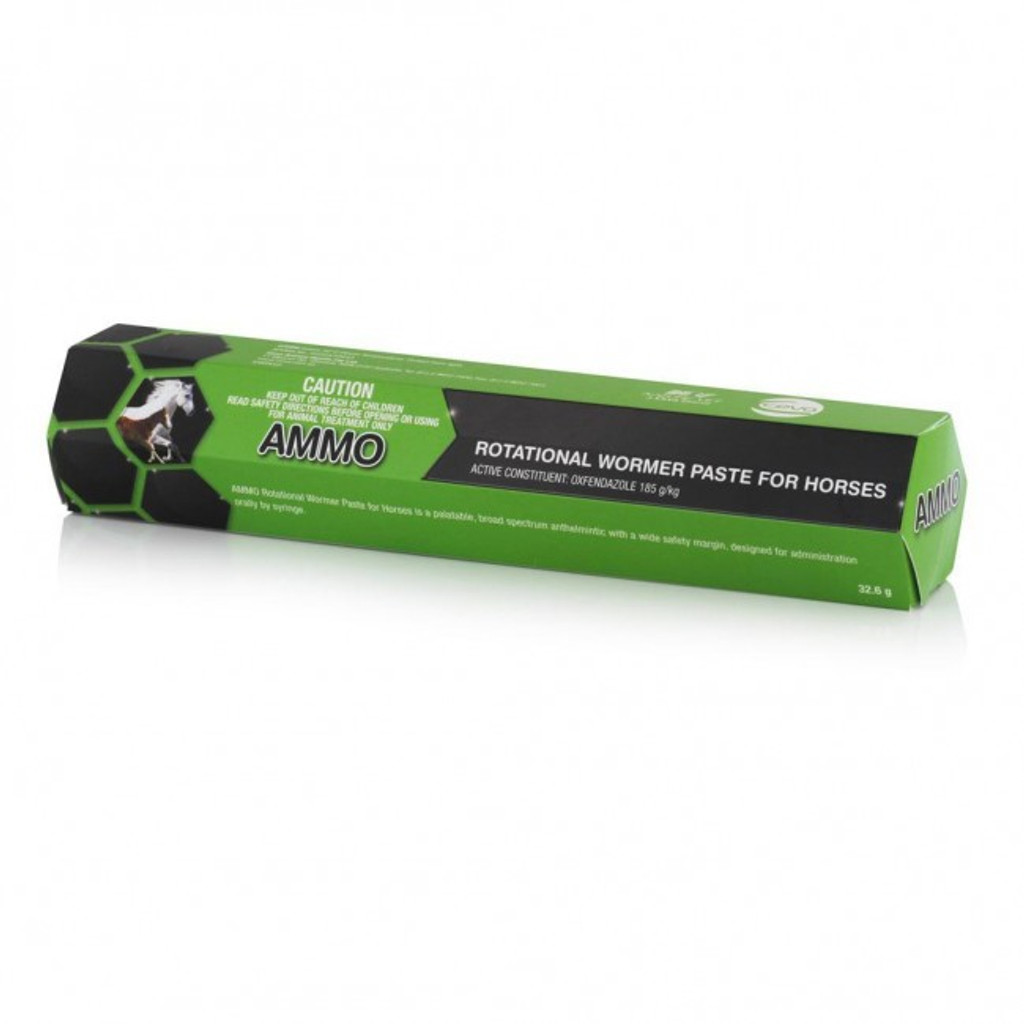 Ammo Rotational Horse Worming Paste