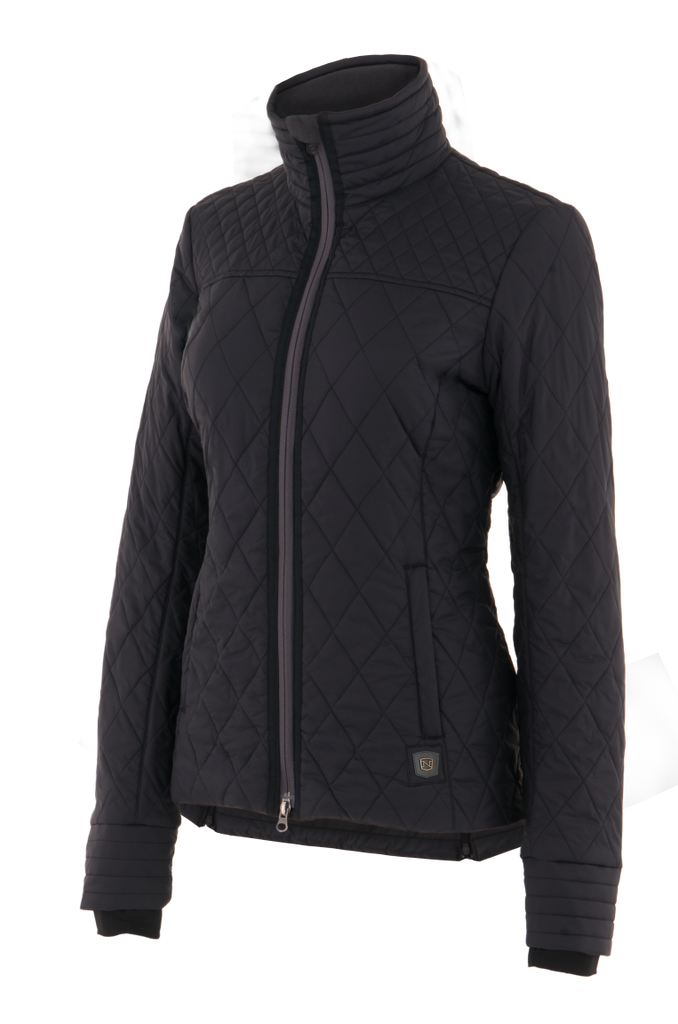 Noble Outfitters Warmup Quilted Jacket (Black) - S/M/L