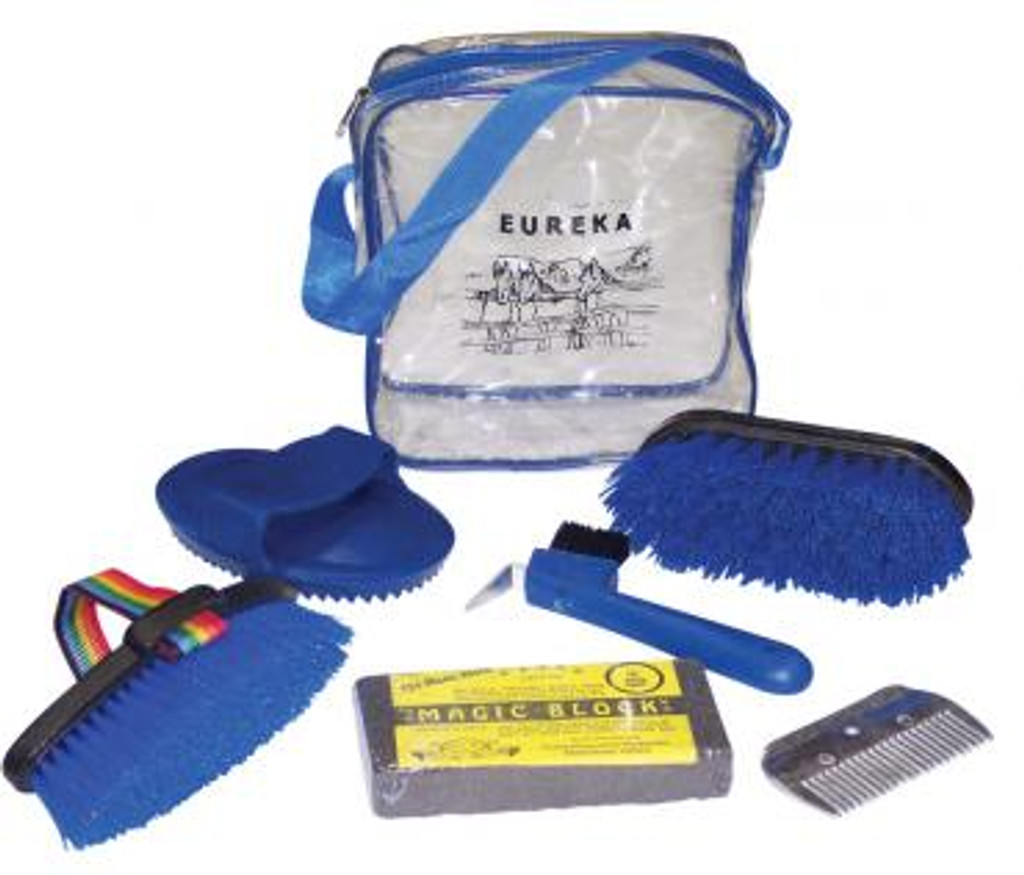 Eureka Pony Club Grooming Kit
